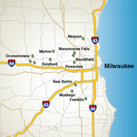 Milwaukee Homesite selection map